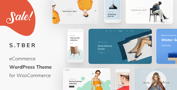 Stber - Furniture & T-Shirt WooCommerce WordPress theme