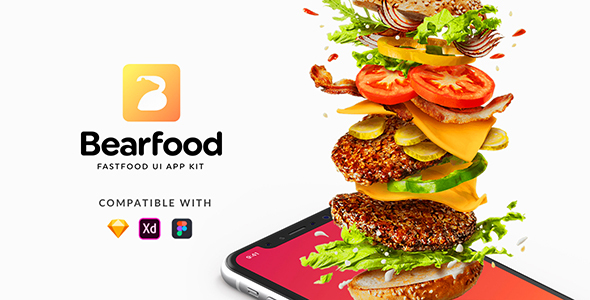 Bearfood - Fast-food app kit