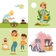Pest in Garden, Insect Flat Vector Illustration - GraphicRiver Item for Sale