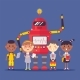 Robot Character, Child, Automatic Device, Teaching - GraphicRiver Item for Sale