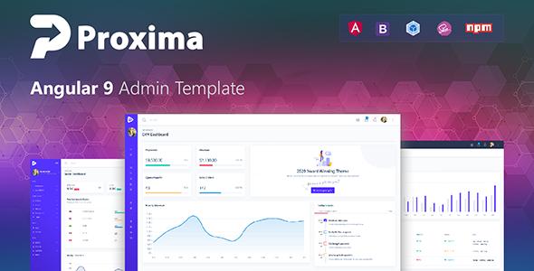 Proxima - Angular 9 & Bootstrap 4 Admin Template