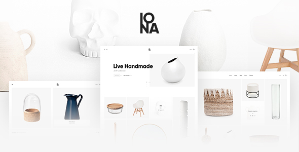 Iona – Handmade & Crafts Shop WordPress Theme Preview