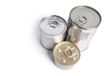 Canned food on white background - PhotoDune Item for Sale