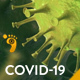 COVID-19 Coronavirus Report Open Logo - VideoHive Item for Sale
