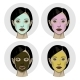 Woman with a Mask on the Face - GraphicRiver Item for Sale