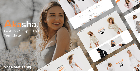 Akasha - Fashion Shop HTML Template