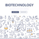 Biotechnology Doodle Concept - GraphicRiver Item for Sale