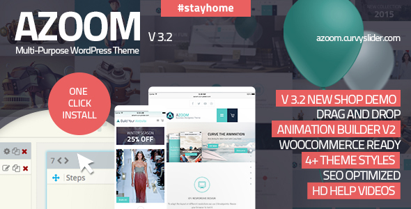 Azoom   Multi-Purpose Theme with Animation Builder
