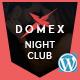 Domex - Night Club WordPress Theme - ThemeForest Item for Sale