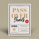 Passover Seder flyers Template - GraphicRiver Item for Sale
