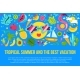 Summer Vacation Flat Banner Template - GraphicRiver Item for Sale