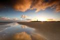 beautiful golden sunrise on beach - PhotoDune Item for Sale