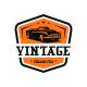 Classic car logo - GraphicRiver Item for Sale