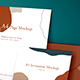 A4 & Invitation Mockup - GraphicRiver Item for Sale
