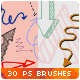 30 Hand-drawn Arrows Vector Doodles Photoshop Brushes - GraphicRiver Item for Sale