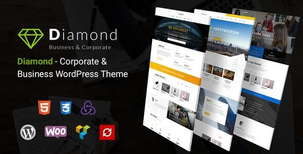 Diamond - Business & Corporate Responsive WordPress Theme