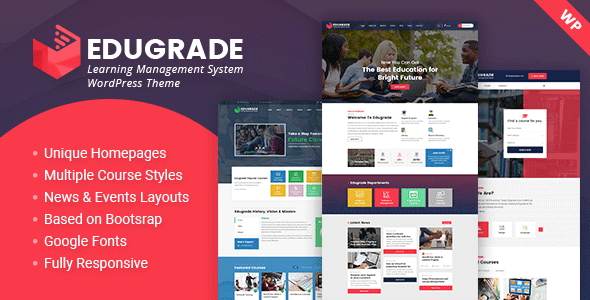 Edugrade - Education WordPress Theme