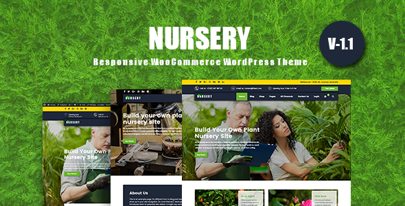 NurseryPlant - Responsive WooCommerce WordPress Theme
