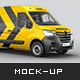 Renault Master Van Mockup - GraphicRiver Item for Sale