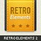 Retro Web Elements Vol. 2 - GraphicRiver Item for Sale