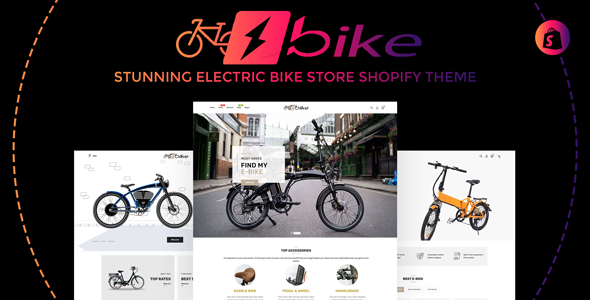 E-Bike | Stunning Electric Bicycle Store Responsive Shopify Theme