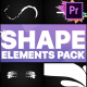 Shapes Collection   Premiere Pro MOGRT - VideoHive Item for Sale