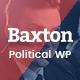 Baxton - Political WordPress Theme - ThemeForest Item for Sale