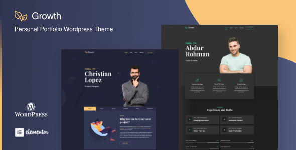 Growth - Personal Portfolio Theme