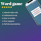 Time killer Word game - CodeCanyon Item for Sale