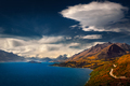 Scenic view from Bennetts bluff viewpoint, near Glenorchy, New Zealand - PhotoDune Item for Sale