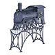 Stove train - 3DOcean Item for Sale