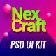 NexCraft | Modular PSD Template and Web UI Kit - ThemeForest Item for Sale