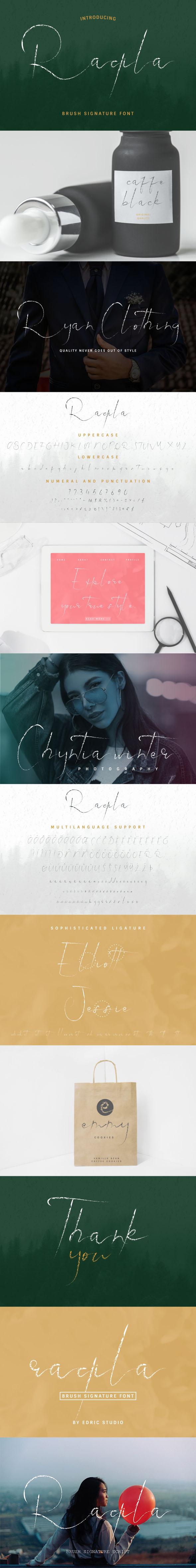 Raqila Rough Brush Signature