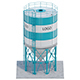 Silo for grain - 3DOcean Item for Sale