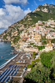 The famous seaside town of Positano - PhotoDune Item for Sale