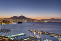 View over the Gulf of Naples at dawn - PhotoDune Item for Sale