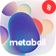 Metaball - Holographic Liquid Bubbles Backgrounds - GraphicRiver Item for Sale