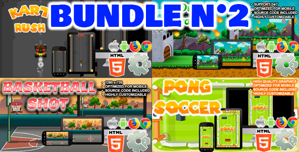 Bundle N°2 (  04 games | CAPX and HTML5 ) Download