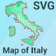 Map of Italy - CodeCanyon Item for Sale