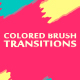 Colored Brush Transitions - VideoHive Item for Sale