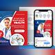 Medical Social Media Post & Flyer Templates - GraphicRiver Item for Sale