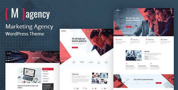Magency – Marketing Company WordPress Theme Preview