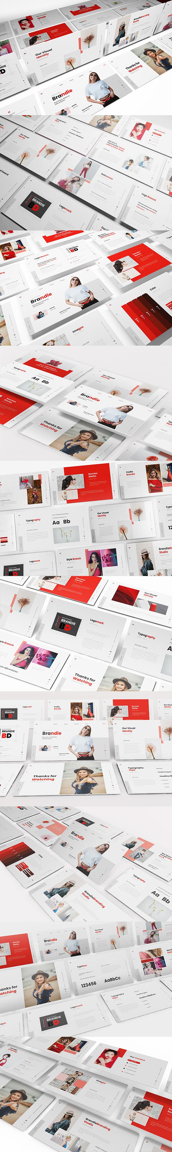 Brandie Branding Powerpoint Template