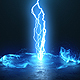Vortex Lightning Explosion Logo - VideoHive Item for Sale