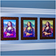 Frame - Mona Lisa Paintings- - 3DOcean Item for Sale