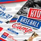 Baseball Kids Camp - GraphicRiver Item for Sale