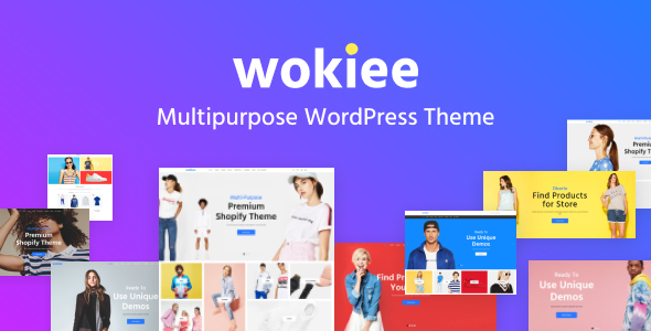 Wokiee - Multipurpose WooCommerce WordPress Theme