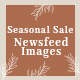 Seasonal Sale Social Media News Feed Images - 05 Designs - GraphicRiver Item for Sale