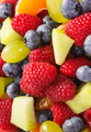Fresh fruit salad as background, healthy nutrition concept - PhotoDune Item for Sale