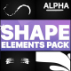 Shapes Collection   Motion Graphics Pack - VideoHive Item for Sale